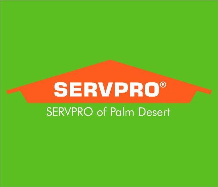 SERVPRO of Palm Desert Logo