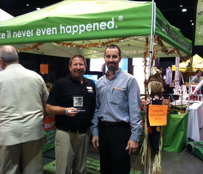 "General SERVPRO of Palm Desert ""Most Informative Exhibitor"""