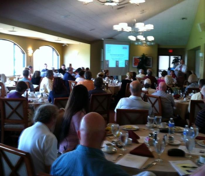 Community Tarbell Realtors Legal Seminar - SERVPRO of Palm Desert Sponsor