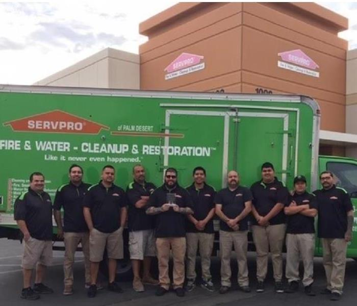 Why SERVPRO SERVPRO of Palm Desert named Rancho Mirage Chamber of Commerce Small Business of the Year