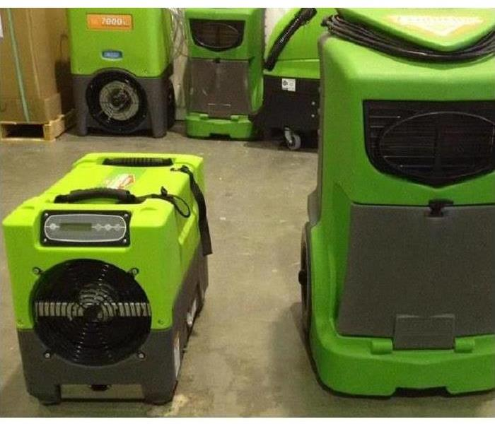 Picture of 2 sizes of dehumidifier